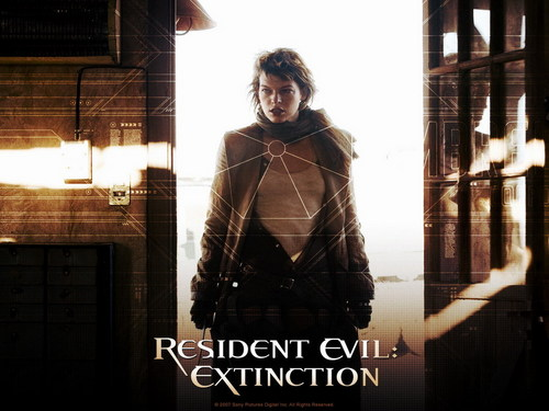 Resident Evil Movie wallpaper with a well dressed person called Resident Evil Movie
