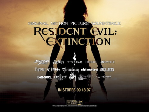 Resident Evil Movie wallpaper probably containing a sunset and a portrait entitled Resident Evil Movie