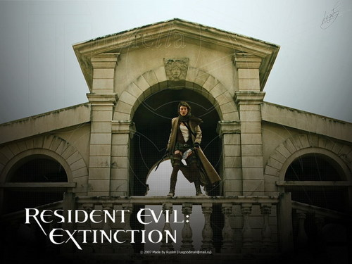 Resident Evil Movie wallpaper probably containing a street titled Resident Evil Movie
