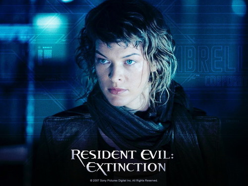 Resident Evil Movie wallpaper probably containing a portrait titled Resident Evil Movie