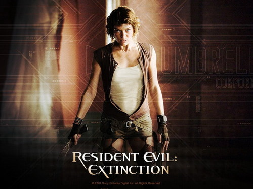 Resident Evil Movie wallpaper probably with a cocktail dress, a dinner dress, and a well dressed person titled Resident Evil Movie