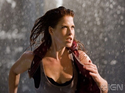 Resident Evil Movie wallpaper probably containing a fountain entitled Resident Evil Movie