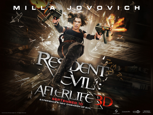 Resident Evil Movie پیپر وال containing a sign and عملی حکمت called Resident Evil Movie