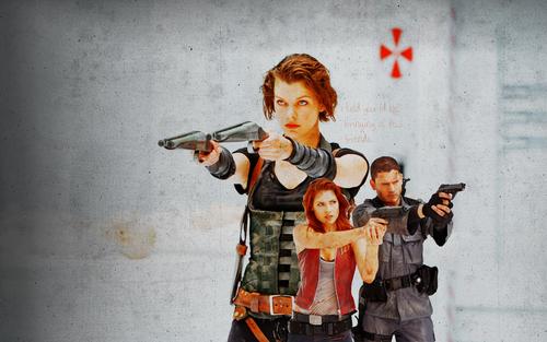 Resident Evil Movie پیپر وال titled Resident Evil Movie
