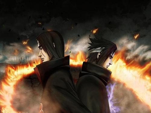 SASUKE VS ITACHI LAST BATTLE