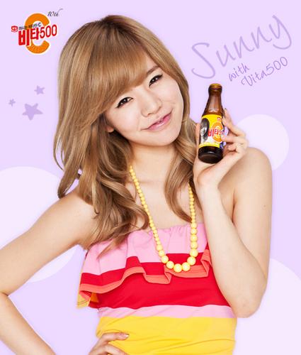 SNSD Sunny Vita500 summer