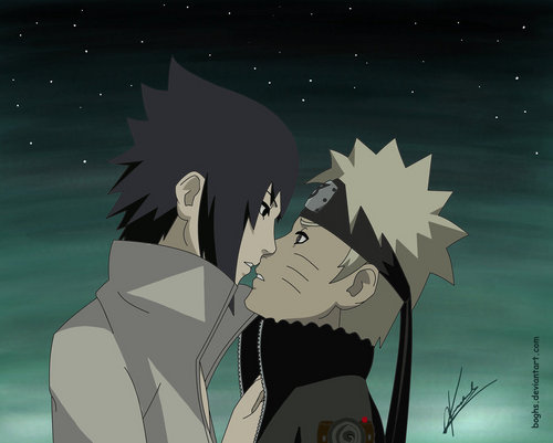 Sasuke and NARUTO -ナルト-