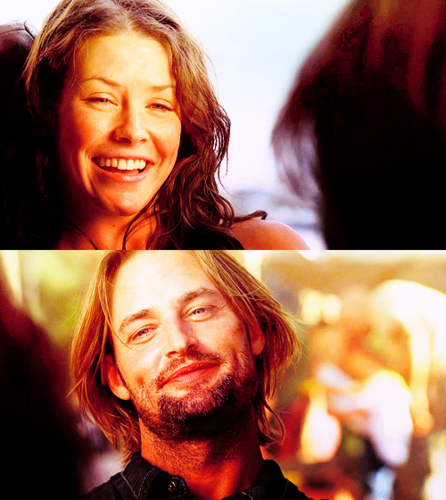 Sawyer and Kate