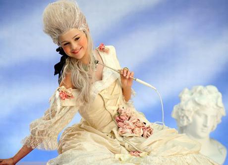Selena Gomez As Marie Antoinette