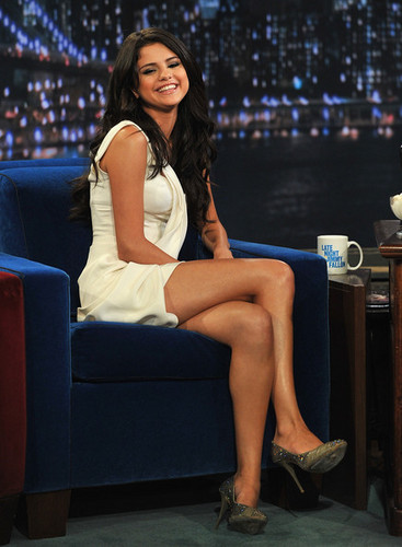 "Selena Gomez on ""Late Night With Jimmy Fallon"""
