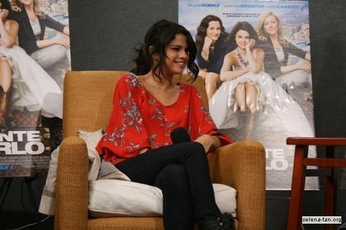 Selena - KISS 108 Interview - June 24, 2011
