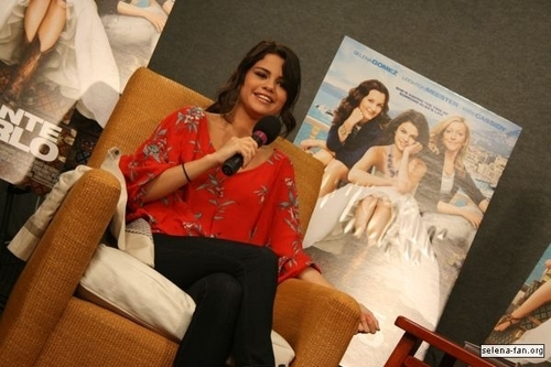 Selena - KISS 108 Interview - June 24, 2011