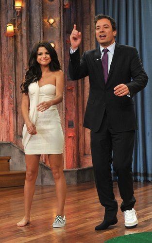 Selly on Late Night With Jimmy Fallon