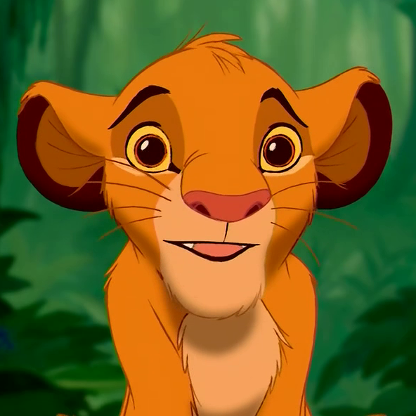 The Lion King Simba's WTF Face