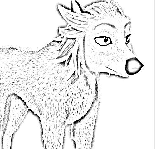 Sketch of Scar