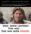 Smooth - jaime-and-brienne fan art