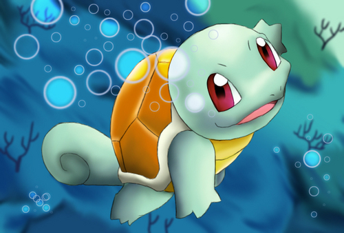 pokémon wallpaper titled Squirtle