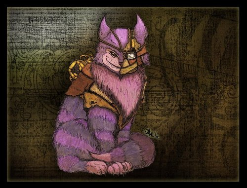 Steampunk Cheshire :)