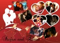 Stefan and Elena  - stelena-bamon-and-forwood fan art