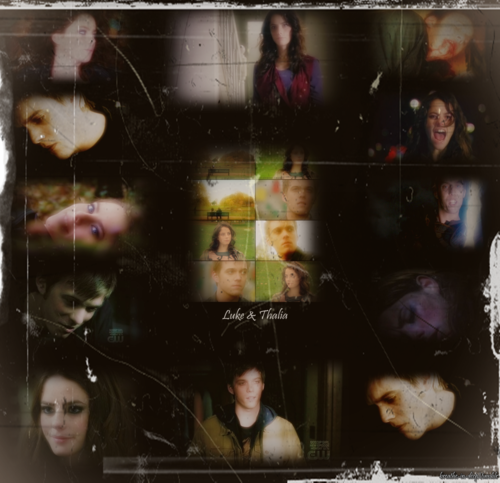 Thalia Grace and Luke Castellan wallpaper titled Thalia/Luke