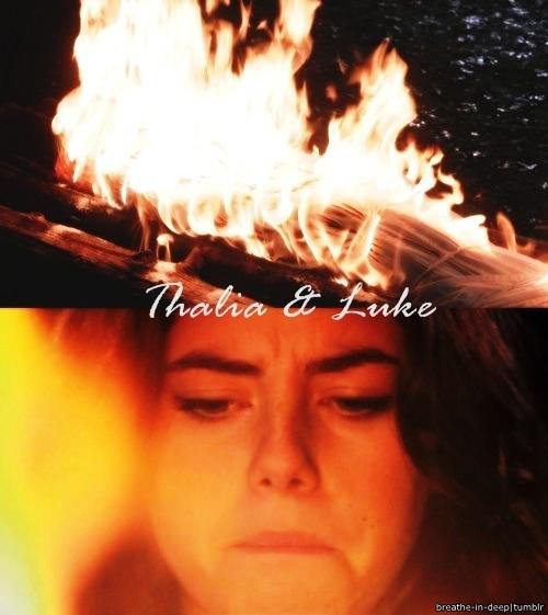 Thalia Grace and Luke Castellan images Thalia/Luke ...