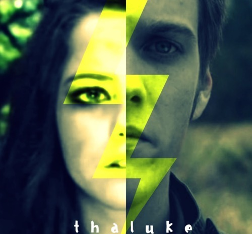 Thalia Grace and Luke Castellan wallpaper probably containing a portrait entitled Thalia/Luke