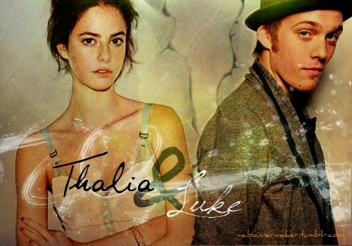Thalia Grace and Luke Castellan wallpaper called Thaliluke