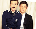 The ADORABLE duo of Cory &amp; Chris!!&lt;3 - cory-monteith-and-chris-colfer photo