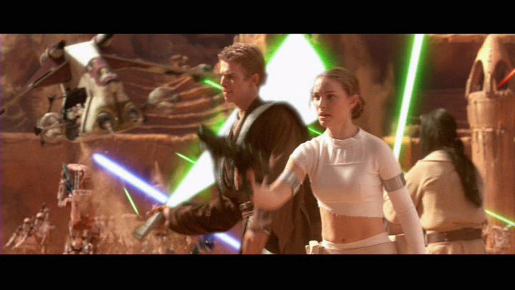 The Arenabattle Of Geonosis Star Wars Attack Of The Clones Image