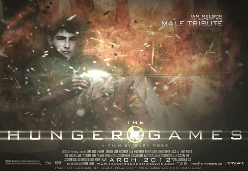 The Hunger Games fanmade movie poster - District 3 Tribute Boy