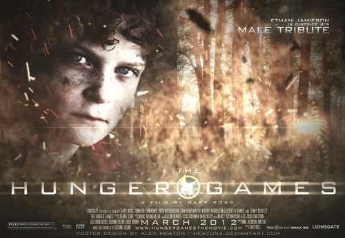 The Hunger Games fanmade movie poster - District 4 Tribute Boy