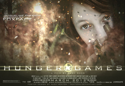 The Hunger Games fanmade movie poster - Foxface