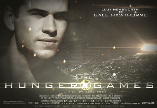 The Hunger Games fanmade movie poster - Gale Hawthorne