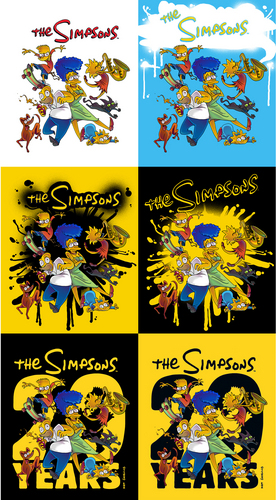 The Simpsons 20th Anniversary Poster Delay