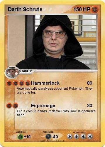 The pokemon Dwight