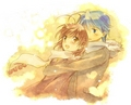 Tomoya and Nagisa