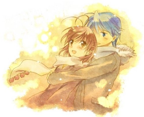 Clannad images Tomoya and Nagisa wallpaper and background ...