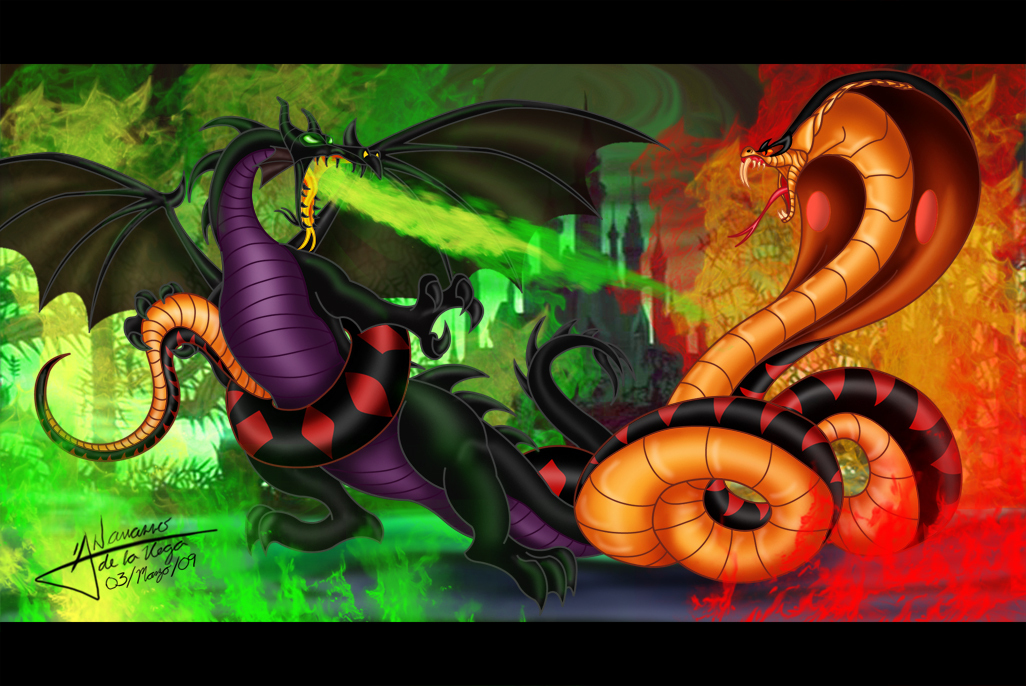 Maleficent and jafar images transformed maleficent and - Serpent aladin ...