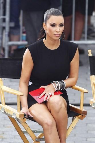 "Kim Kardashian wallpaper called Upskirt Candids At ""Project Runway"" In New York"