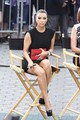 "Upskirt Candids At ""Project Runway"" In New York - kim-kardashian photo"