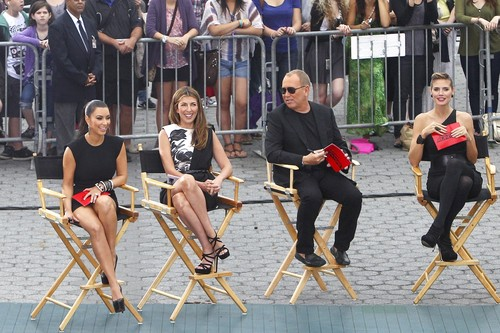 """Upskirt Candids At """"Project Runway"""" In New York"""