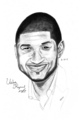 Usher drawing  - usher fan art