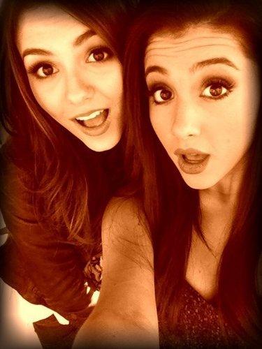 Victoria Justice & Adriana Grande