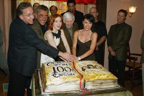 WB's Charmed 100th Episode Celebration, November 20, 2002