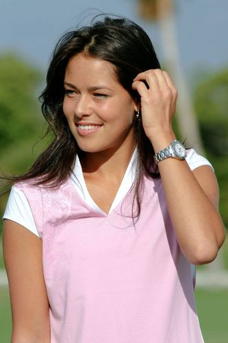 Ana Ivanovic is Pretty in Pink