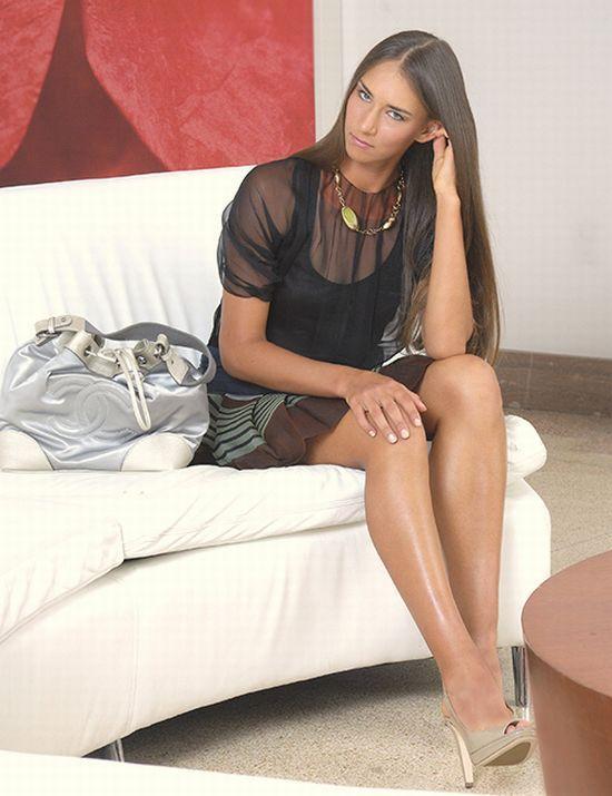 Anastasia Pivovarova is an Exotic Beauty