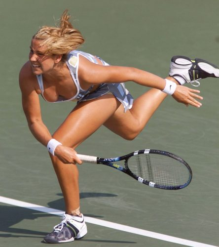 Ashley Harkleroad is Serving Sexy - wta Photo