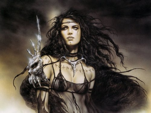Fantasy wallpaper possibly containing attractiveness and a surcoat entitled Warrior Girl