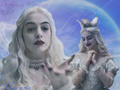 White Queen - disney-leading-ladies wallpaper