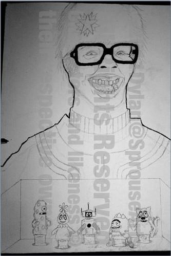 Yo Gabba Gabba Painting Process oleh Dylan Sprouse!!